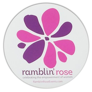 Ramblin Rose Magnet