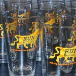 Bull City Pint Glass