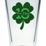 Shamrock Pint Glass