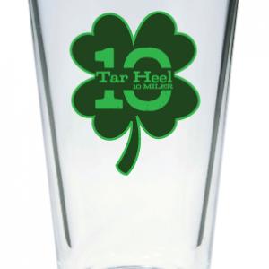 Shamrock Pint Glass