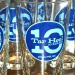 Tar Heel 10 Miler Pint Glass