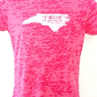 Women's Tar Heel 10 Burnout Tee