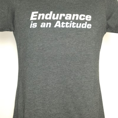Endurance Is An Attitude Tee Women's