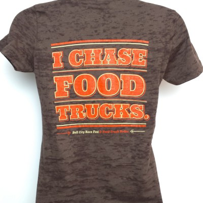BCRF Women's Food Truck Tee Back