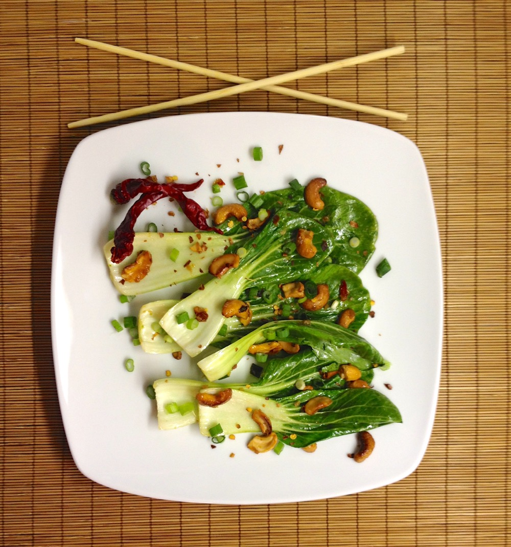 NUTRITION – Baby Bok Choy with Cashews | Endurance Magazine