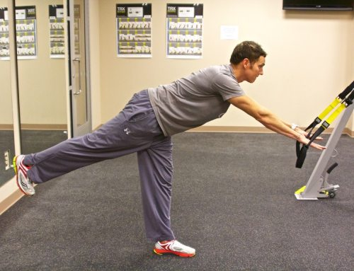 TRX TIP – Romanian Deadlifts (Double Leg Stance and Single Leg Alternating)