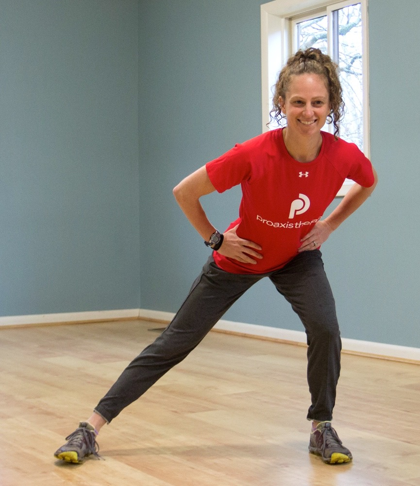 Core Corner Side Lunge To Single Leg Balance Endurance