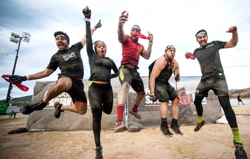 Running North Carolina Mud Fun Color And Obstacles