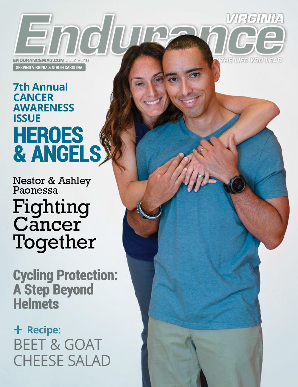Endurance VA JUL/AUG 2016 Cover