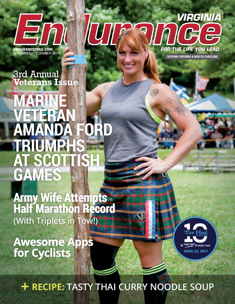 Endurance VA NOV/DEC 2016 Cover
