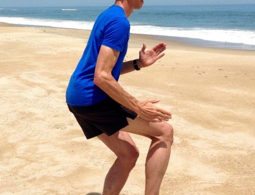 Squat with One Leg Running