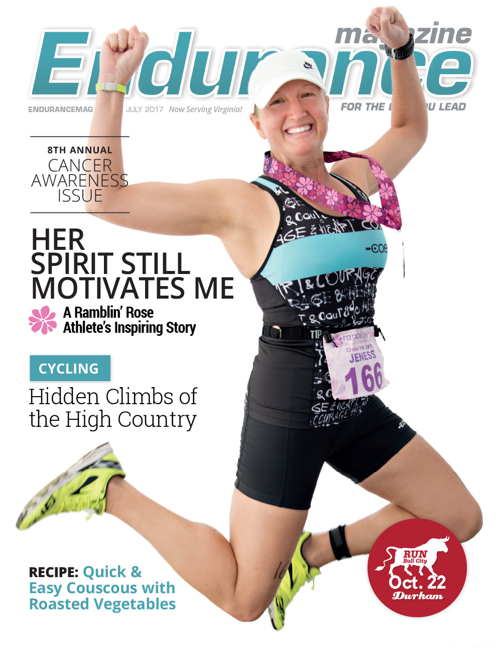 Endurance Triangle july 2017 Cover