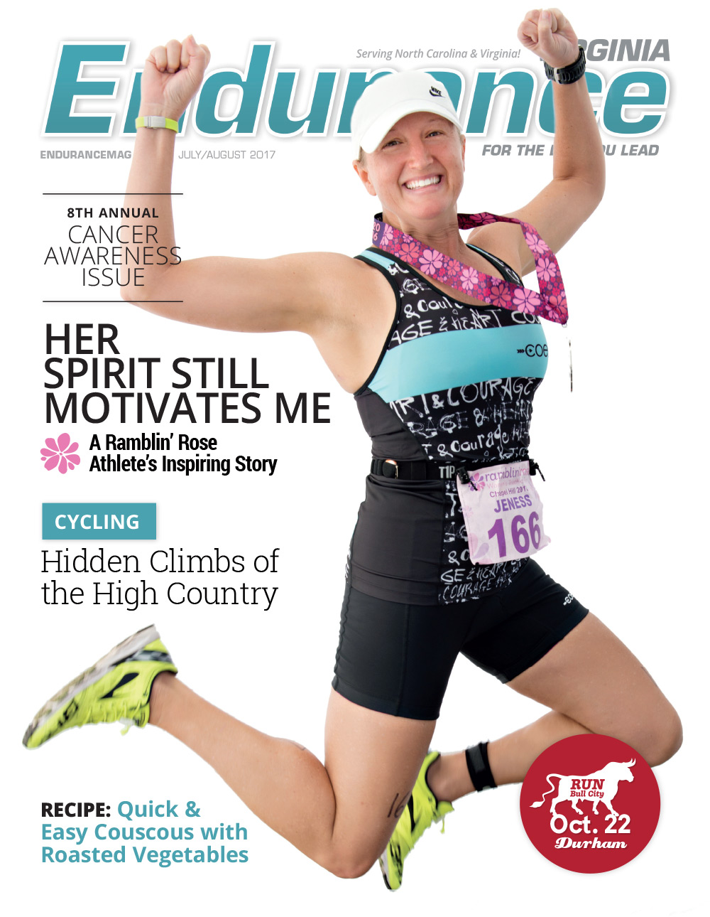 Endurance VA july/aug 2017 Cover