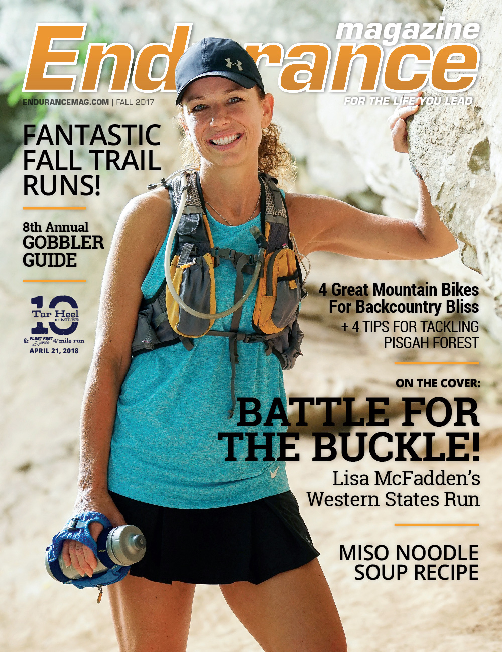 Endurance Triangle Fall 2017 Cover