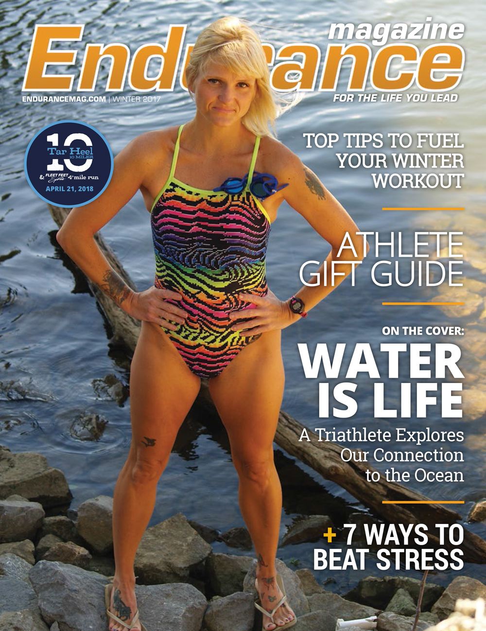 Endurance Triangle Winter 2017 Cover