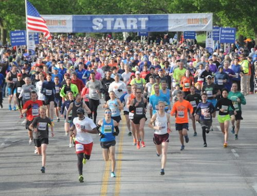 "Celebrate Your ""Why"" at the Christie Clinic Illinois Marathon"