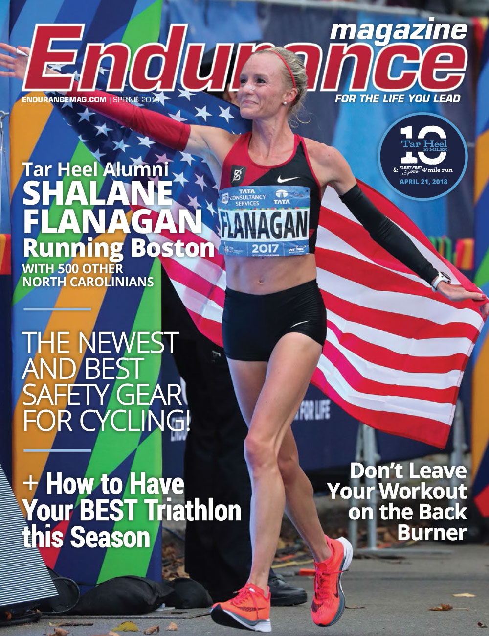 Endurance Triangle Spring 2018 Cover
