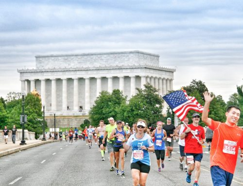 THE BEST WAY TO SEE WASHINGTON, DC IS TO RUN DC