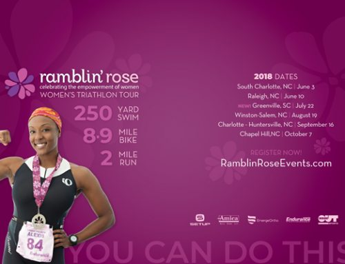 YOU.CAN.DO.THIS! Experience the 2018 Ramblin' Rose Women's Triathlon Tour
