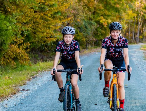 Mother and Daughter Compete Together in Cyclocross Racing