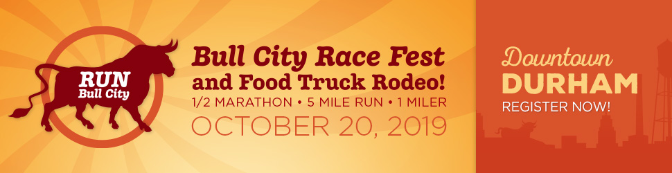 Register now for the Bull City Race Fest