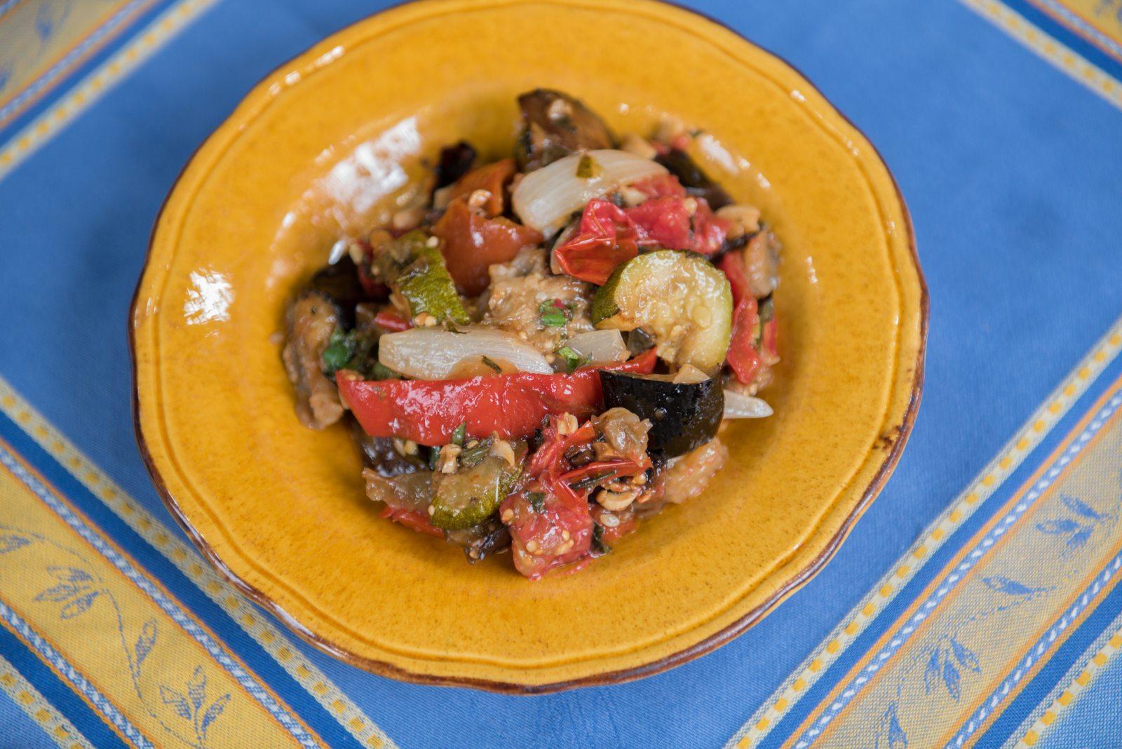 Grilled Summer Ratatouille
