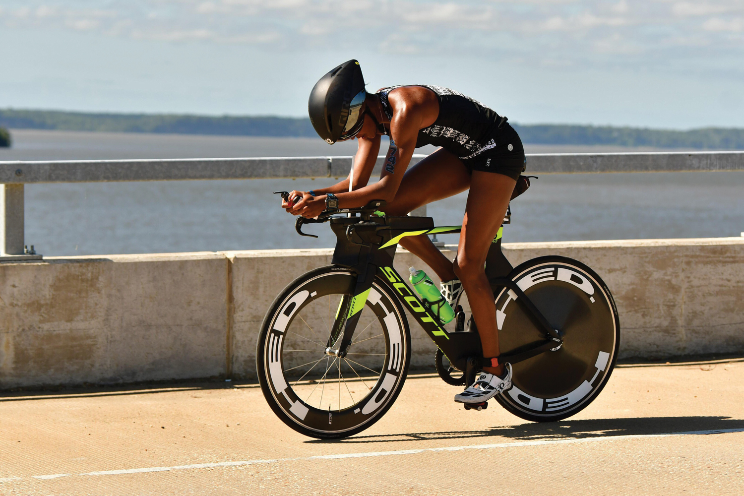 Triathlete Sika Henry