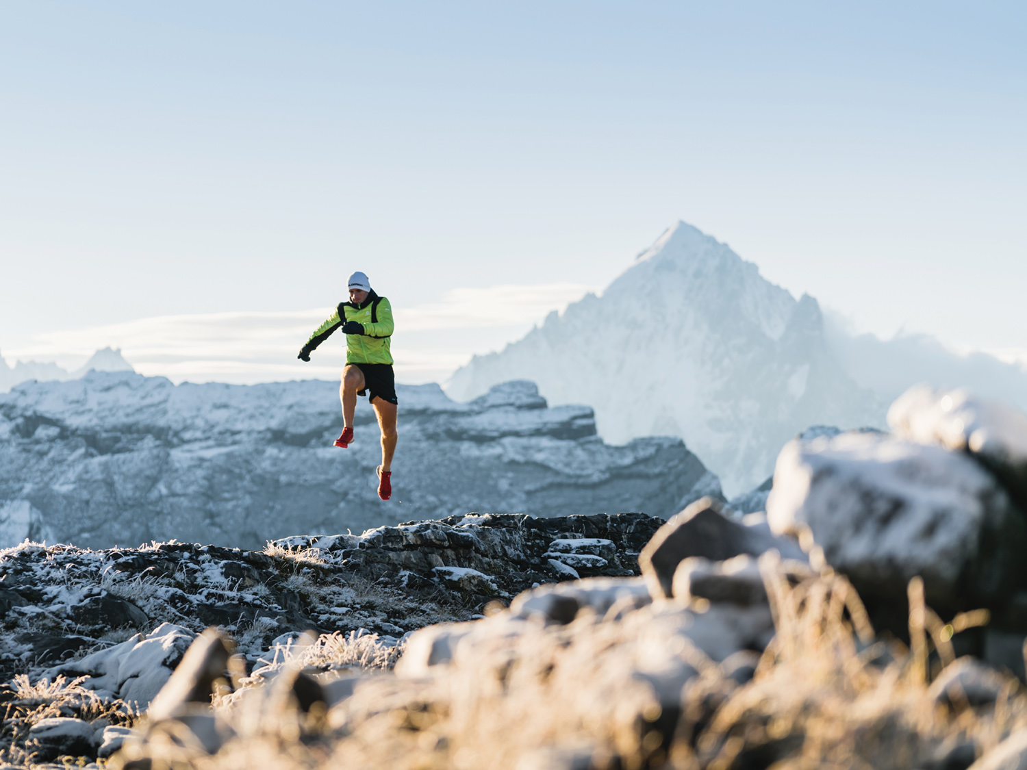 Donnie completed the Winter Ramsay Round in 23:06, setting a new fastest-known-record.
