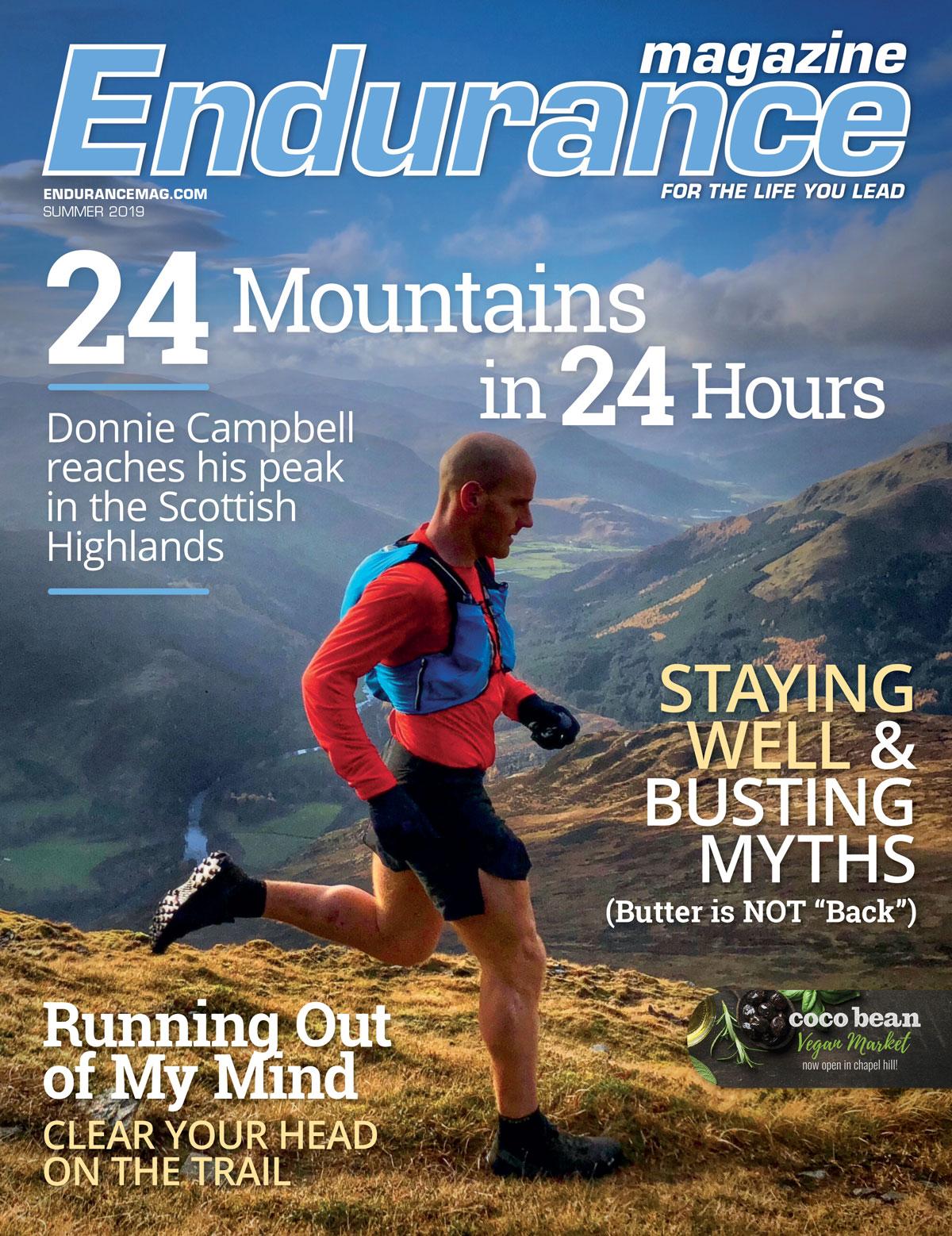 Endurance Magazine Summer 2019 Cover