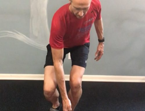 Single Leg Squat Cone Touch