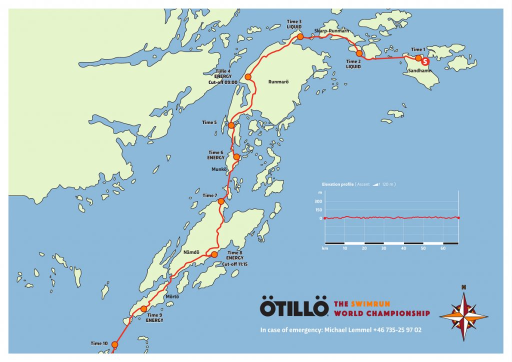 Ötillö Map